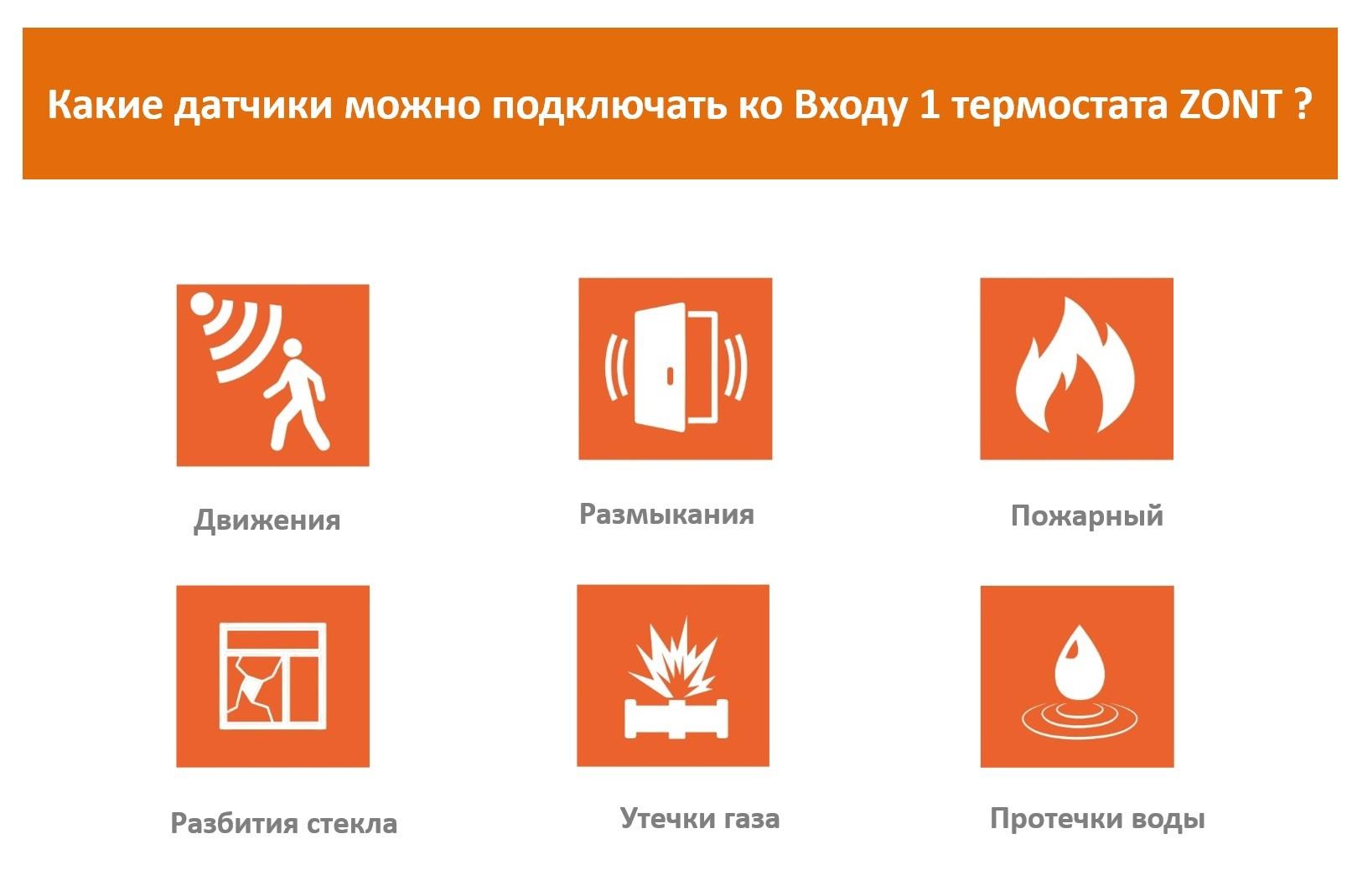 Датчики: какие и как подключаются к термостатам ZONT